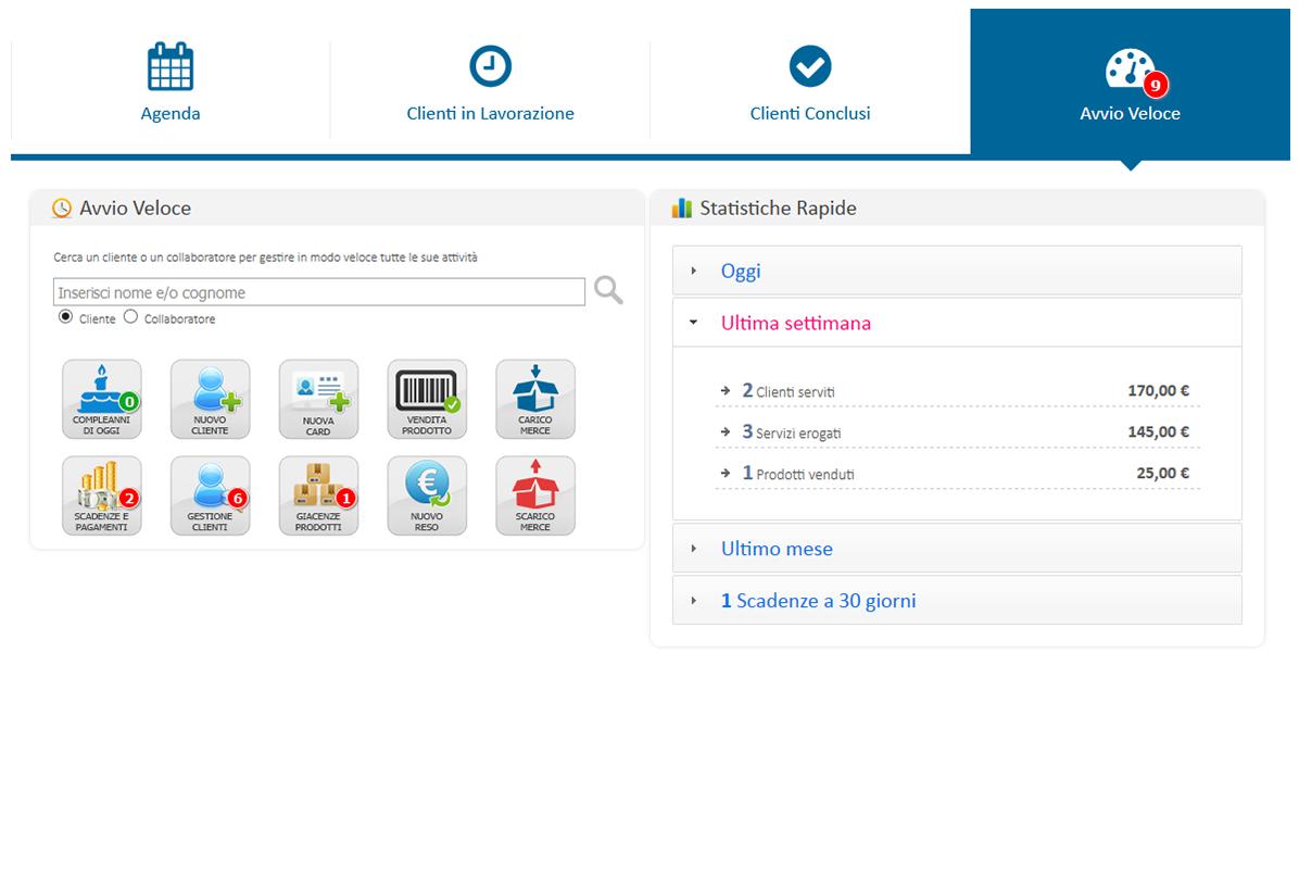 Avvio Veloce Home Page